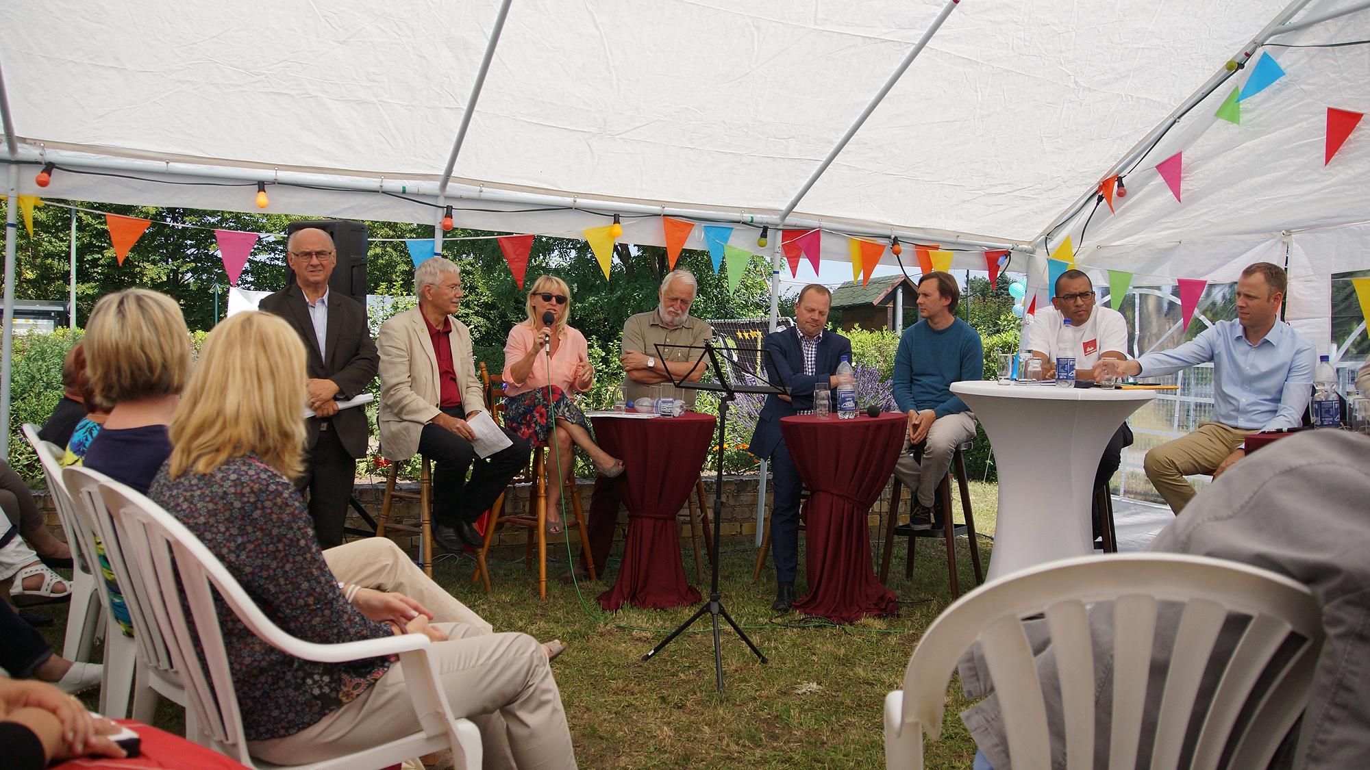Polit - Talk anlässlich des 40. Geburtstages der KGA Wacholderheide am 16.Juli 2016